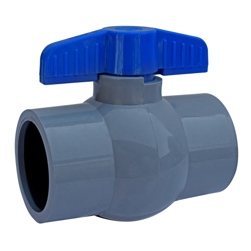 Aquazen Solid Ball Valve - Gray (Agriculture)