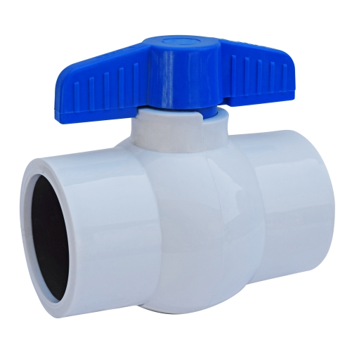Aquazen Solid Ball Valve -White (Agriculture)